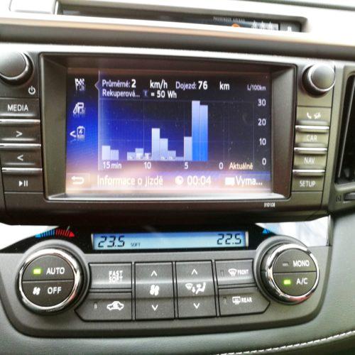 Toyota RAV4 Hybrid pristrojovka5