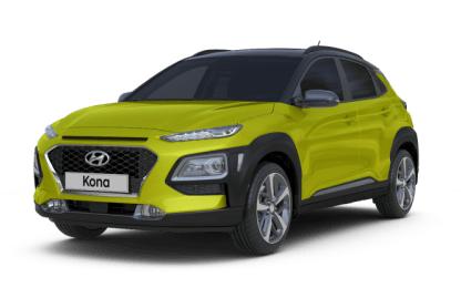 Hyundai KONA bok zepředu