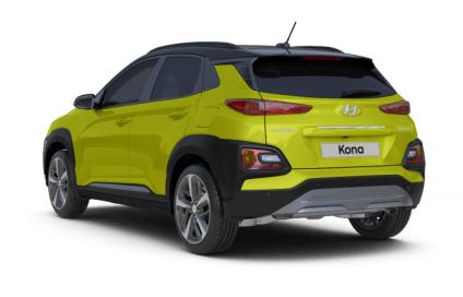 Hyundai KONA bok zezadu