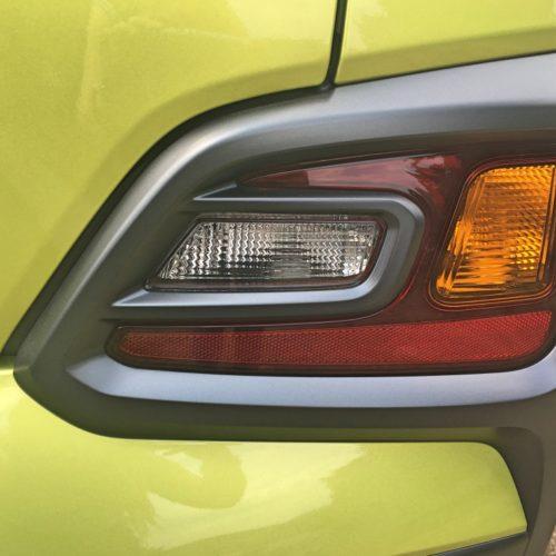 Hyundai KONA lampa zadní detail