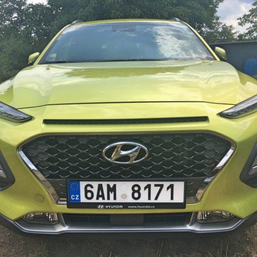 Hyundai KONA předek
