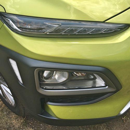 Hyundai KONA předek bok světlo