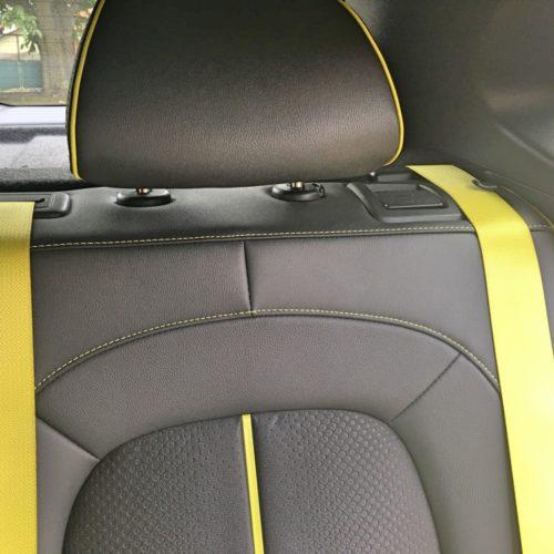 Hyundai KONA sedačka