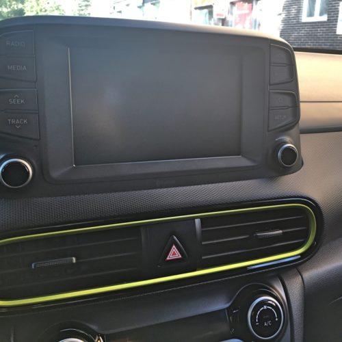 Hyundai KONA středový display