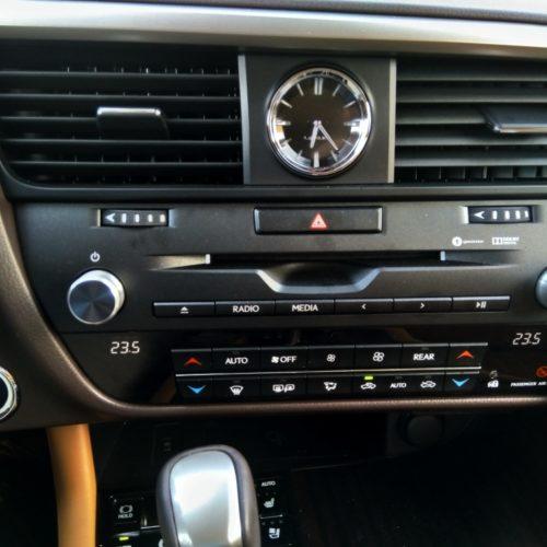 Lexus 450RhL 2 řada ovládání klima