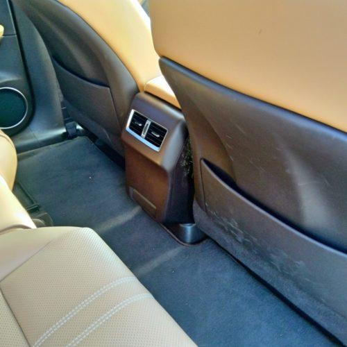 Lexus 450RhL 2 řada výdechy klima
