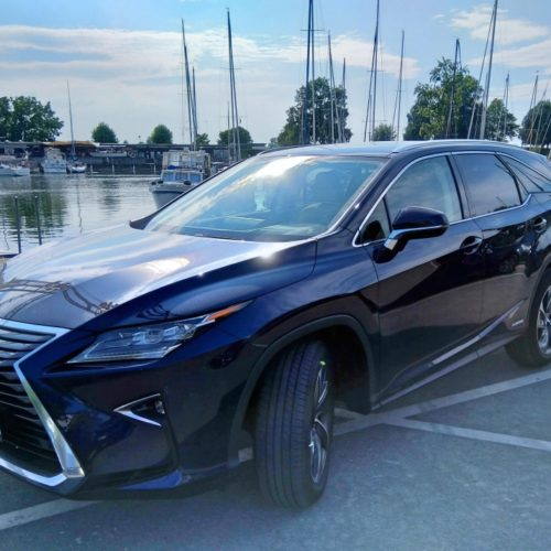 Lexus 450RhL bok zepředu