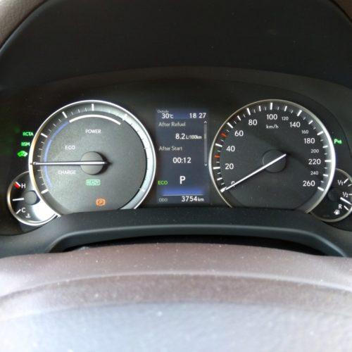 Lexus 450RhL kaplička spotřeba