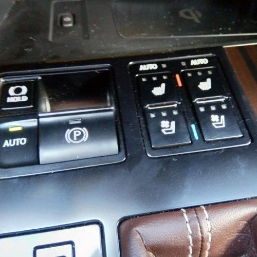 Lexus 450RhL klima sedačky