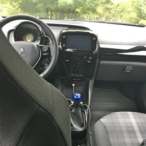 Peugeot 108_přístrojovka