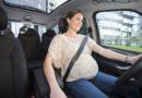 Pomůcka pro bezpečnější jízdu těhotných žen