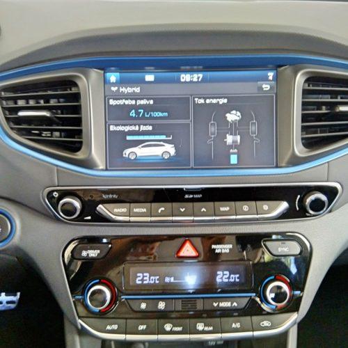 Hyundai Ioniq Hybrid panel střední