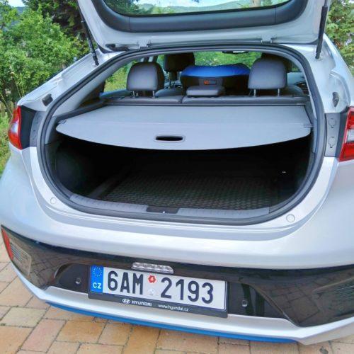 Hyundai Ioniq Hybrid zezadu kufr 2