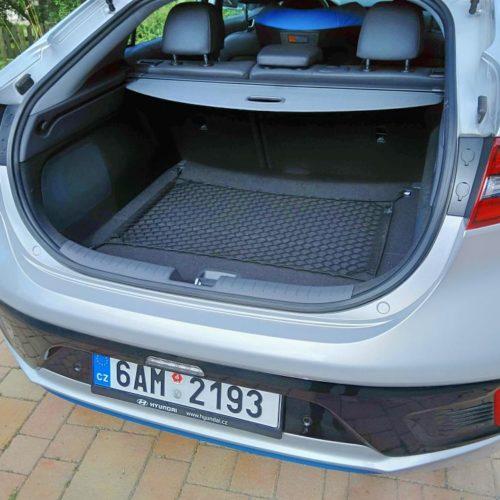 Hyundai Ioniq Hybrid zezadu kufr 3