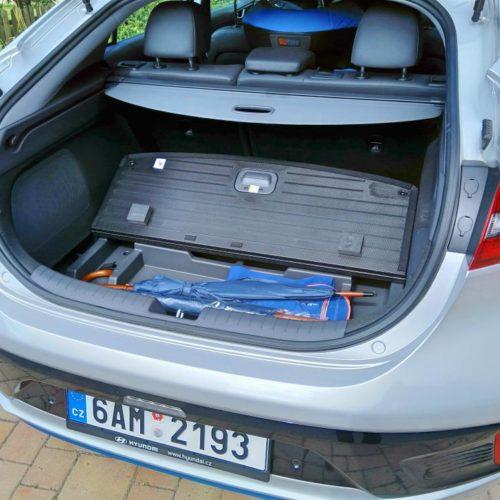 Hyundai Ioniq Hybrid zezadu kufr 4