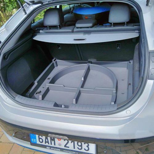 Hyundai Ioniq Hybrid zezadu kufr 5
