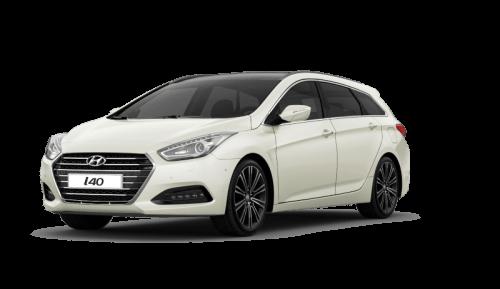 Hyundai i40 bok zepředu