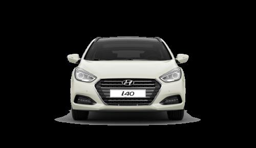 Hyundai i40 bok zepředu čelo