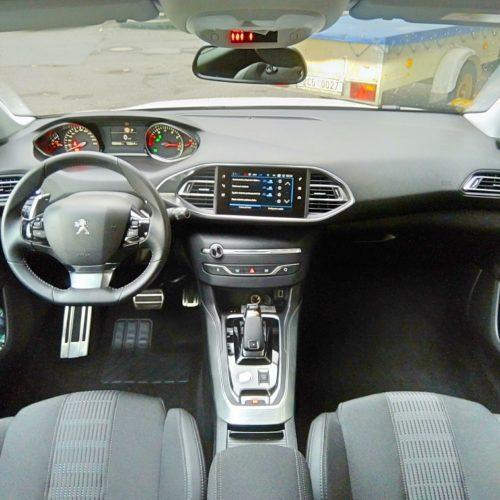 Peugeot 308 přístrojovka
