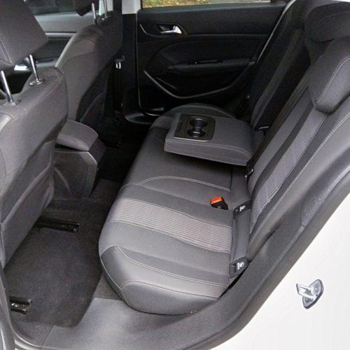Peugeot 308 zadní sedadla