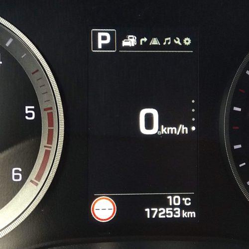 Ford EcoSport displej mezi budíky