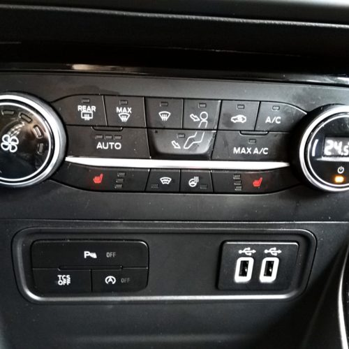 Ford EcoSport klimatizace