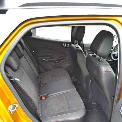 Ford EcoSport zadní sedadla