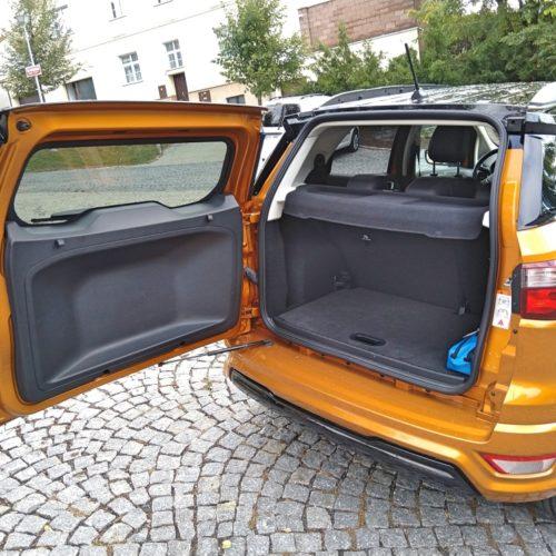 Ford EcoSport zezadu kufr