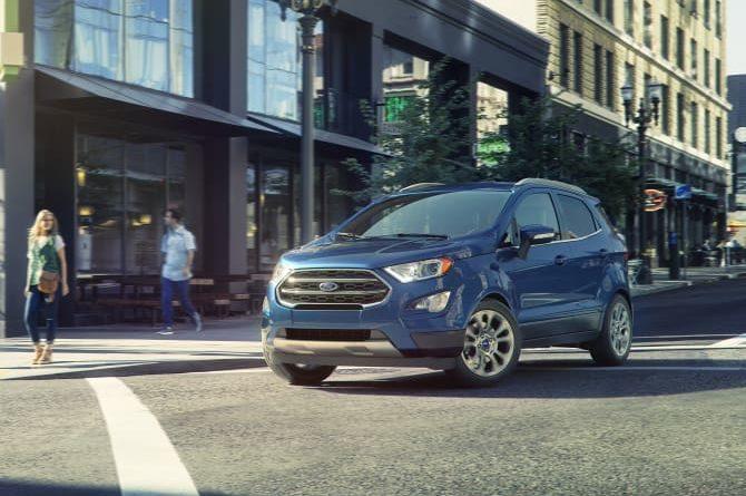 Prodeje SUV značky Ford vzrostl v Evropě o 21 procent na rekordních 259 000 vozů