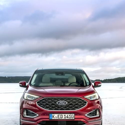 Ford Edge SUV red3