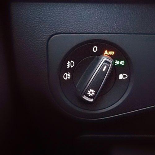 Volkswagen Tiguan nastavení světel