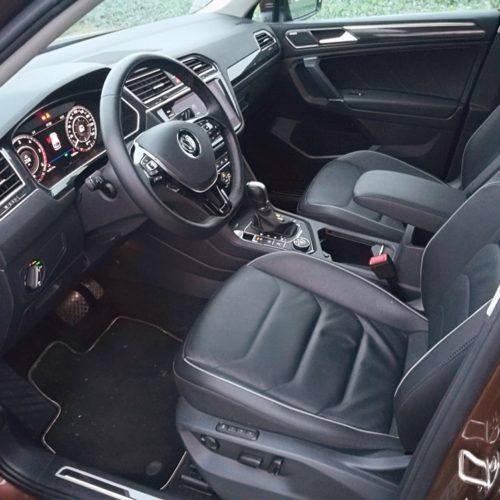 Volkswagen Tiguan přední sedadla