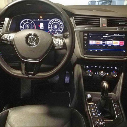 Volkswagen Tiguan pracoviště řidiče