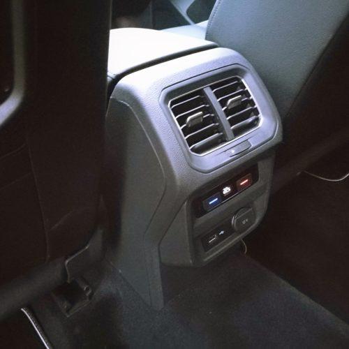 Volkswagen Tiguan zadní topení