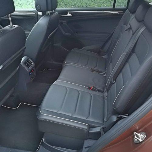 Volkswagen Tiguan zadní sedadla1