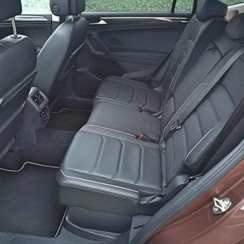 Volkswagen Tiguan zadní sedadla2