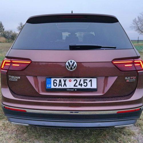 Volkswagen Tiguan zezadu