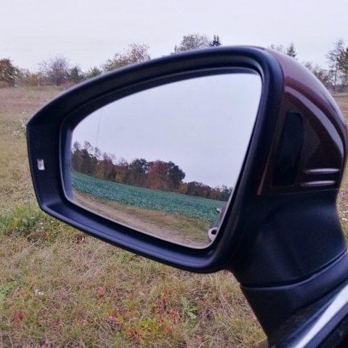 Volkswagen Tiguan zpětné zrcátko