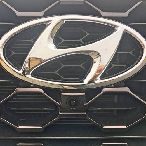 Hyundai Santa Fe detail kamera