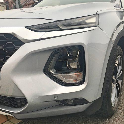 Hyundai Santa Fe detail světla