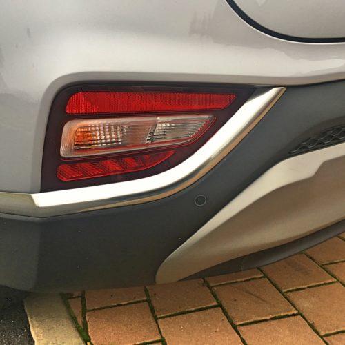 Hyundai Santa Fe detail zadní mlhovka