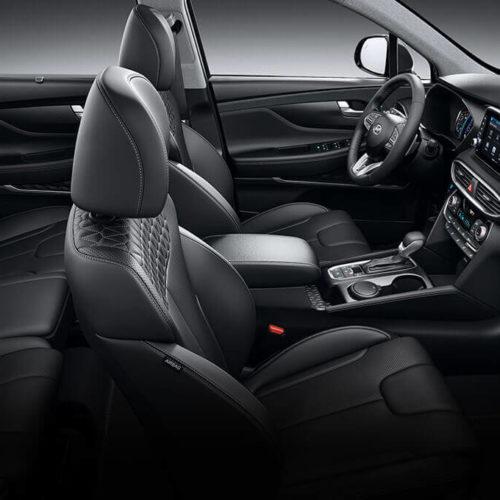 Hyundai Santa Fe interier celek