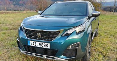 Peugeot 5008 GT 2.0 BlueHDi 180 EAT8 – prostorný elegán