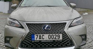 Lexus CT 200H – malý hybrid pro velké město
