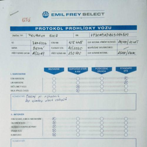Protokol Emil Frey Select 1