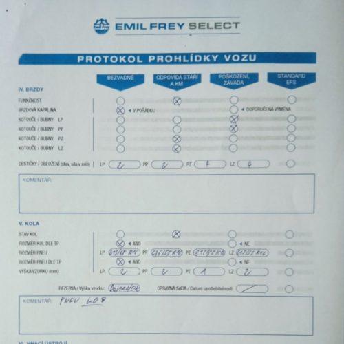 Protokol Emil Frey Select 2