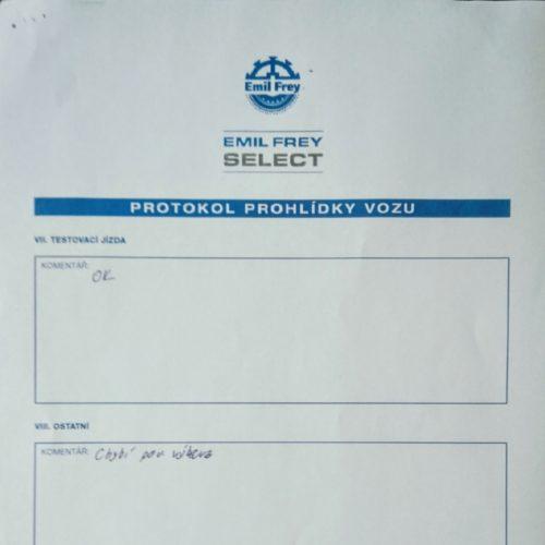 Protokol Emil Frey Select 3
