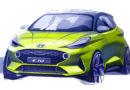 Nová generace modelu Hyundai i10 postupně odkrývá tvář