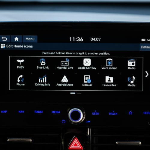 Hyundai_Ioniq_Plugin_home icons screen