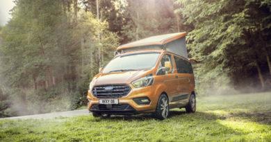 Obytný Ford Transit Custom Nugget vám umožní být online i na cestách
